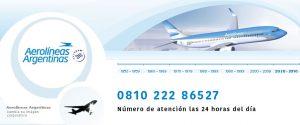Telefono 0800 aerolineas